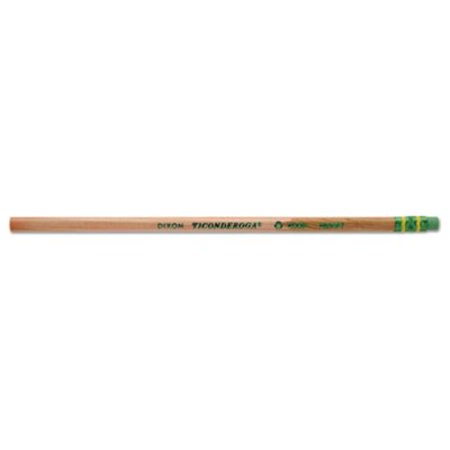 Dixon 96110 Ticonderoga Renew Recycled Pencil, Brown - Pack of 10