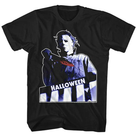 Halloween Movies Top Floor Adult Short Sleeve T - Halloween 100 Floors Level One