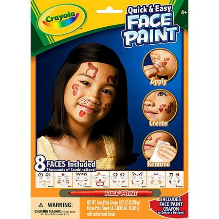 crayola face paint gender neutral walmart com
