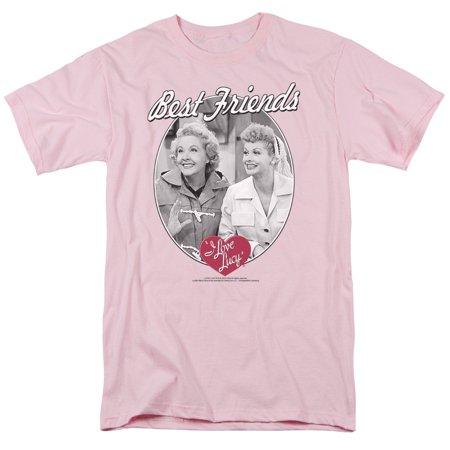 I Love Lucy 50's TV Series Best Friends Adult T-Shirt (Top 100 Best Series)