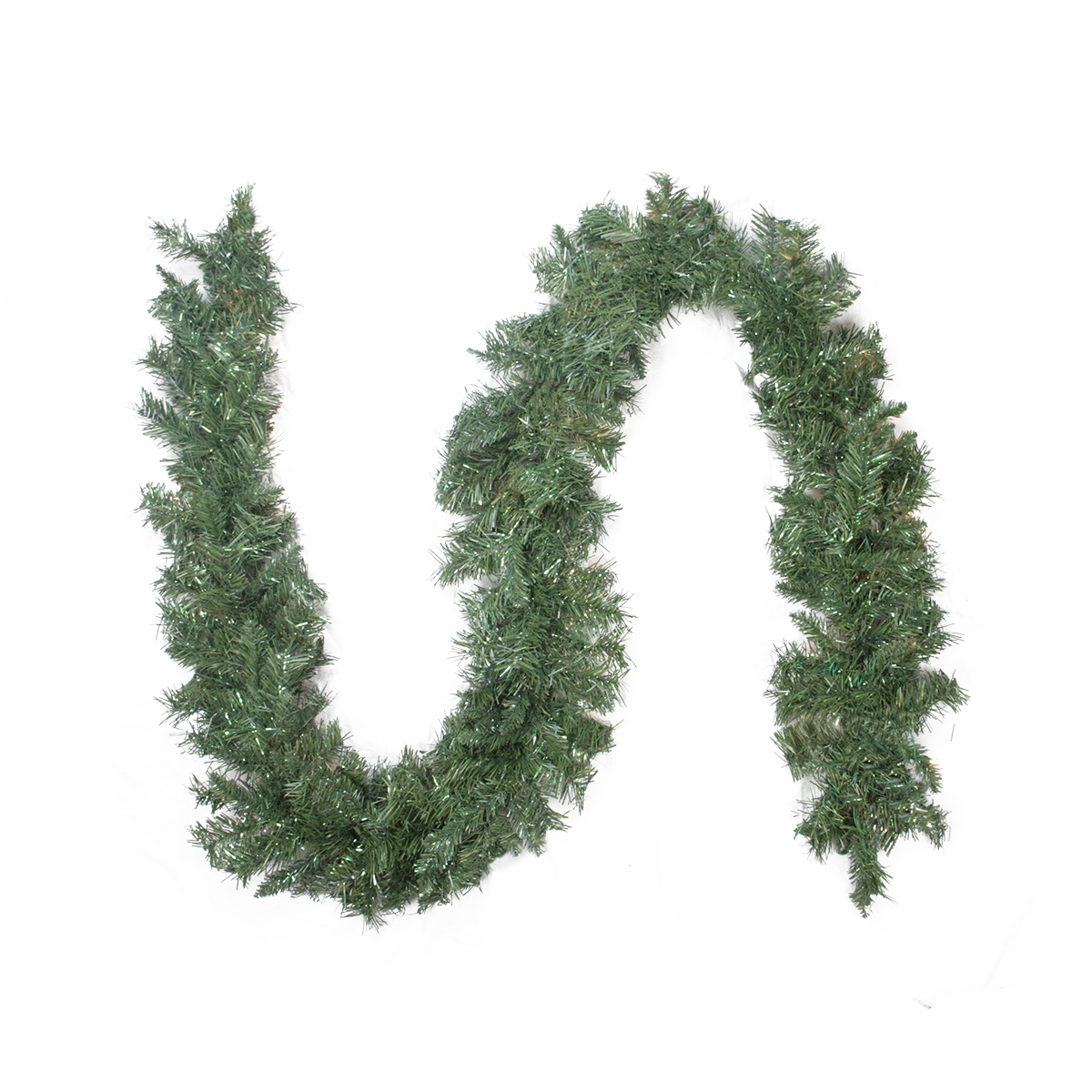 "9' x 10"" Minetoba Pine Artificial Christmas Garland - Unlit"