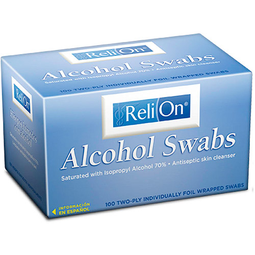 ReliOn Alcohol Swabs, 100ct