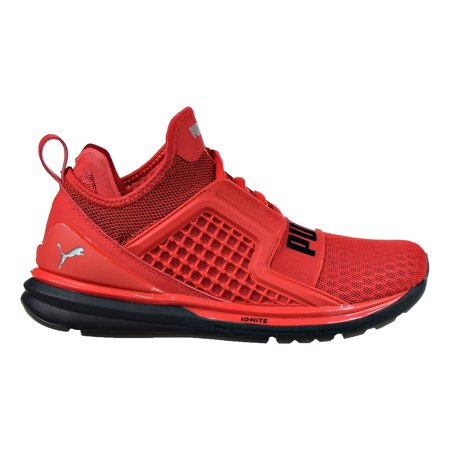 cheaper b5513 38ca7 Puma Ignite Limitless Jr Big Kid's Shoes High Risk Red/High Risk Red  189808-01 (5.5 M US)
