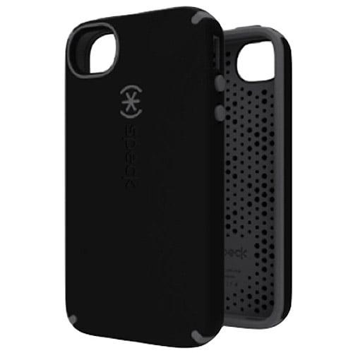 iPhone 4S - CandyShell Satin - Black/Dark Grey