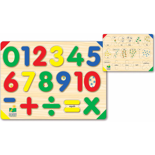 The Learning Journey Lift and Learn 123 Number Puzzle