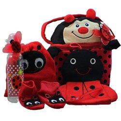 Little Lady Bug-a-boo Gift Basket, Girl