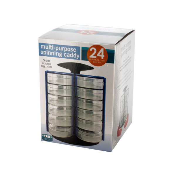 Multi-Purpose Spinning Storage Caddy (Case of 6 )