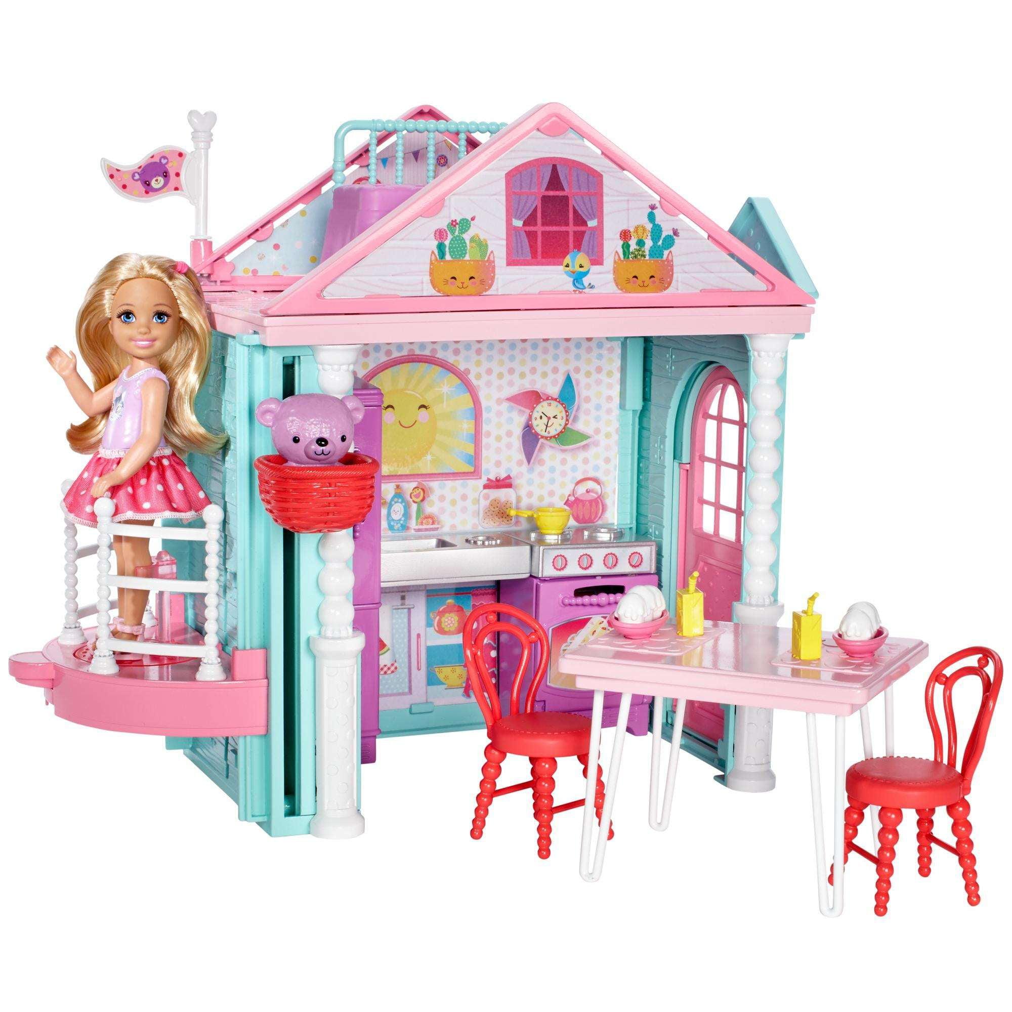 Barbie Club Chelsea Playhouse by Mattel