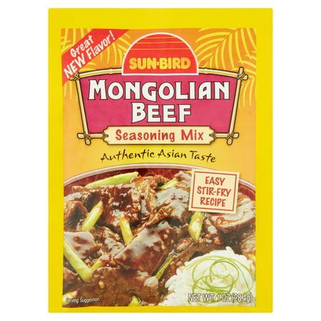 (4 Pack) Sun-Bird Mongolian Beef Seasoning Mix, 1