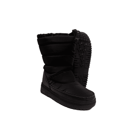 (ITASCA Mammoth Black Womens Outdoor Snow Boots)