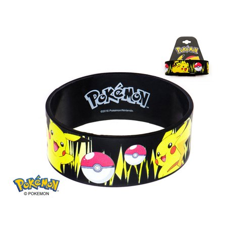 Pokemon Pikachu Wristband Bracelet Pokemon Go Poke Ball - Officially Licensed Pokemon Pikachu Wristband Bracelet Pokemon Go Poke Ball - Officially Licensed