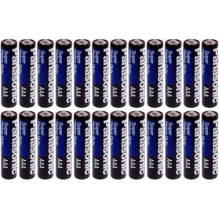 Panasonic Heavy Duty AAA Batteries X 24 Panasonic Heavy Duty AAA Batteries X 24