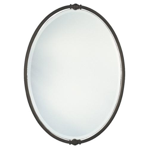 Feiss Oil Rubbed Bronze Boulevard Oval Mirror by Overstock