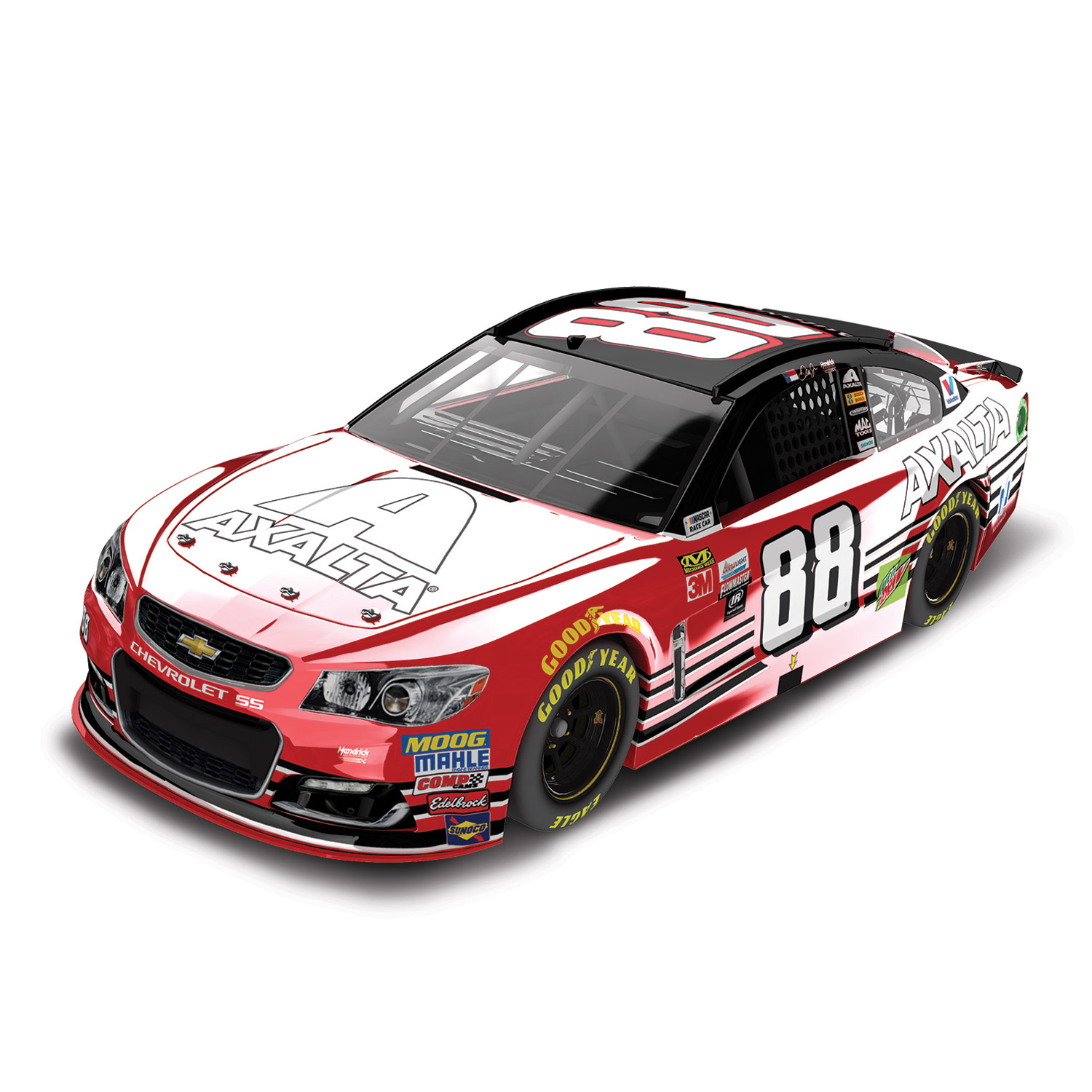 Dale Earnhardt Jr. Action Racing 2017 #88 Axalta Homestead 1:24 Monster Energy Nascar Cup... by Lionel LLC