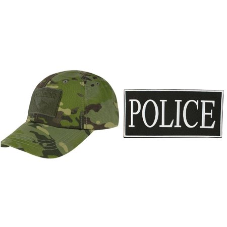 Condor Cap MultiCam Tropic + ENFORCEMENT ID PATCH 2