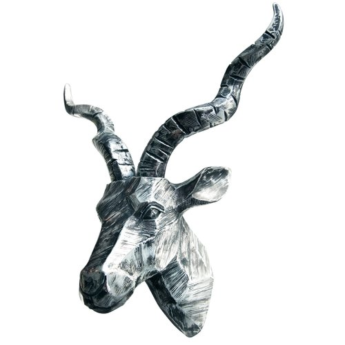 Interior Illusions Kudu Head Bust Wall Decor