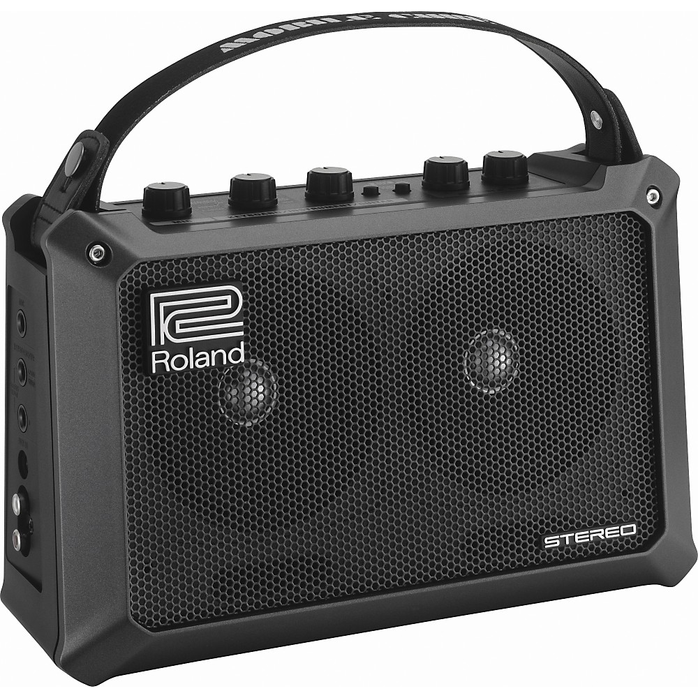 Roland Mobile Cube Battery-Powered Stereo Guitar Combo Amp Black by Roland