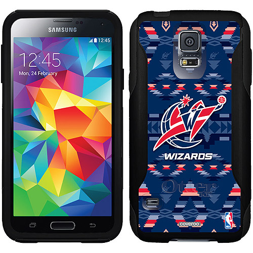 Washington Wizards Tribal Print Design on OtterBox Commuter Series Case for Samsung Galaxy S5