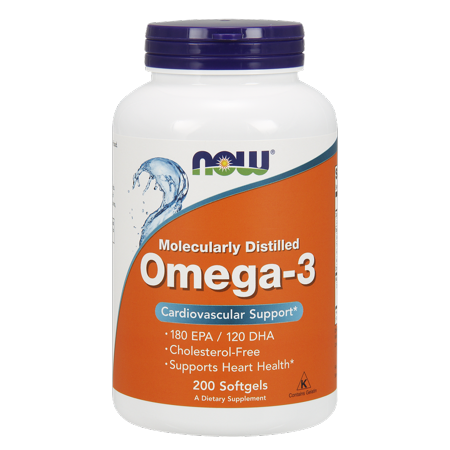 Now Foods Omega 3 180Mg Epa   120Mg Dha  200Ct