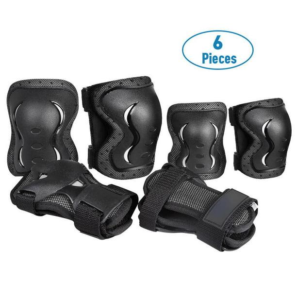 Protective Gear Kids Knee Pads Elbow Pads Set,for Biking Roller Skating Cycling 6 Pcs Set,Skateboard Set,