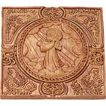 Precious Moments Praying Angel Wood Look Wall Plaque Resin 179105