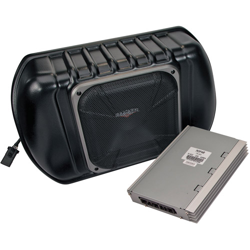 Kicker VSS Multi-Channel Amplifier and Powered Subwoofer Kit for 2011 and Up Jeep Wrangler 4-Door
