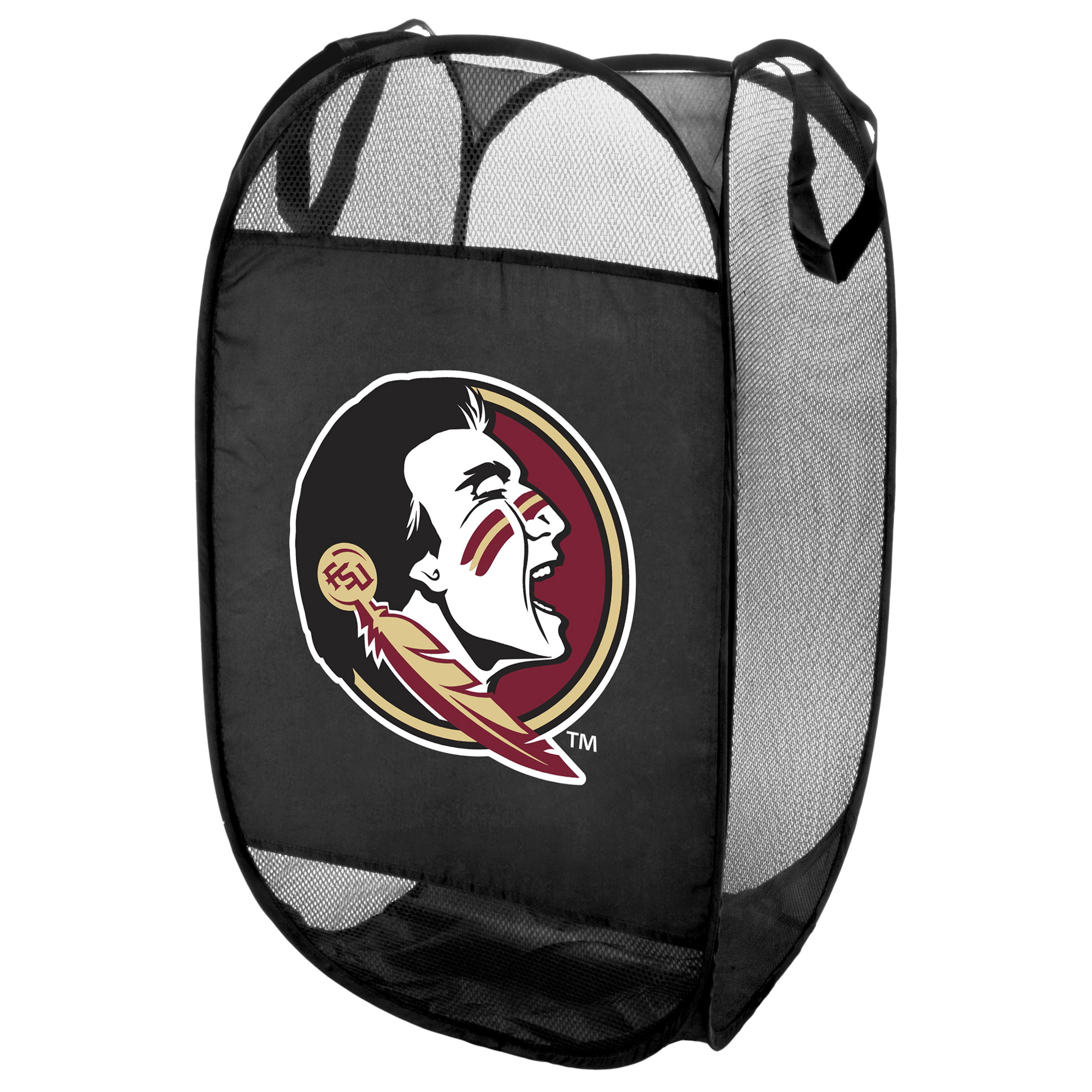 Florida State Seminoles Official NCAA Laundry Hamper Fold Up Flip Open by Forever Collectibles 069539