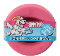 Sippy Pup Non-Spill Dog Water & Food Bowl 1 Count - BPA Free, Dishwasher Safe, Great for RVs, Travel & Home - Choose Your Color