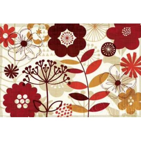 Floral Pop I Poster Print By Michael Mullan