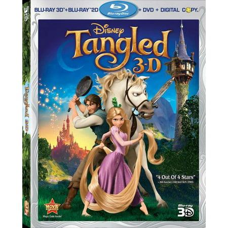 Tangled  3D   Blu Ray   Blu Ray   Dvd   Digital Copy