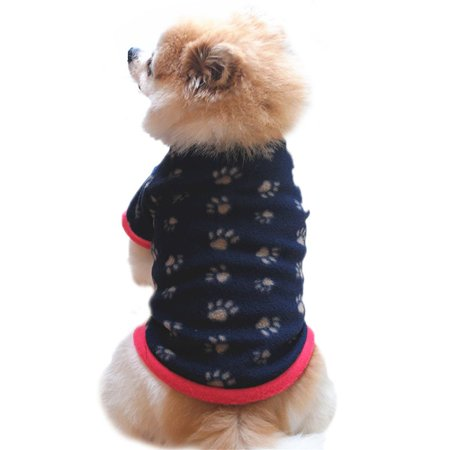 - Sweetsmile Pet Clothes Coat Clearance Dog Sweaters for Small Dogs Winter Warm Polar Fleece Pet Pullover Shirt Puppy Coat Apparel