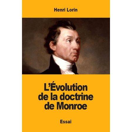 L'Évolution de la doctrine de Monroe - eBook (Mall Monroe La)