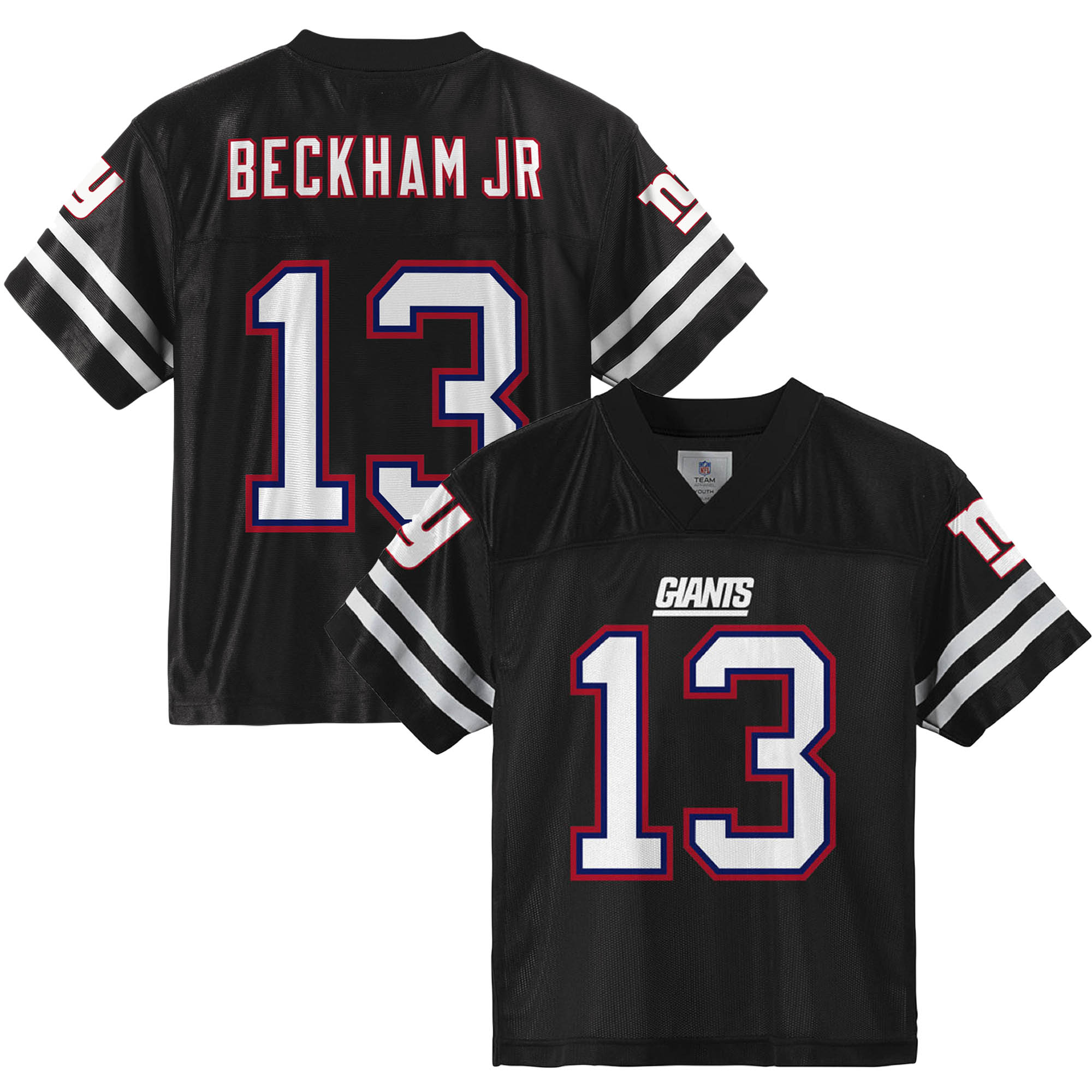 Youth Odell Beckham Jr. Black New York Giants Player Jersey