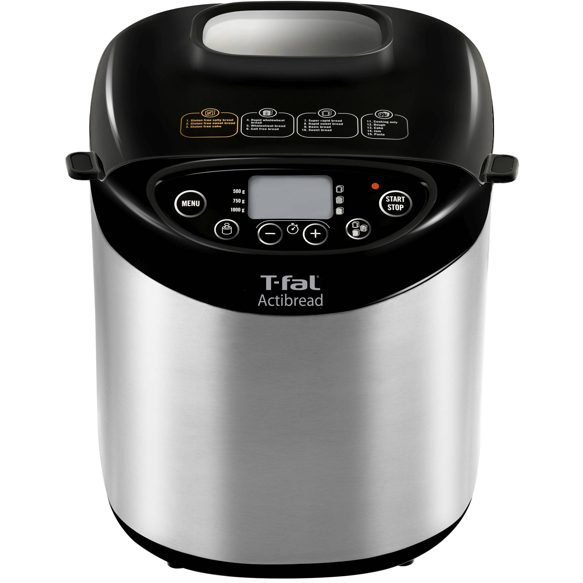 T-Fal ActiBread Programmable Stainless Steel Bread Machine by T-Fal/Wearever
