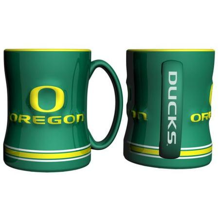 Oregon Ducks Coffee Mug - 15oz Sculpted - image 1 de 1