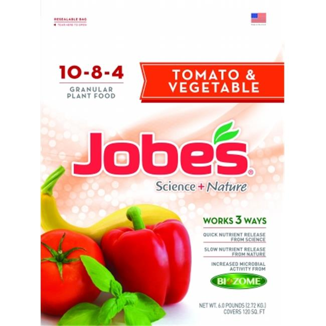 Easy Gardener Jobes Science Plus Nature Tomato & Veg Plant Food 3. 5 Pound 59036