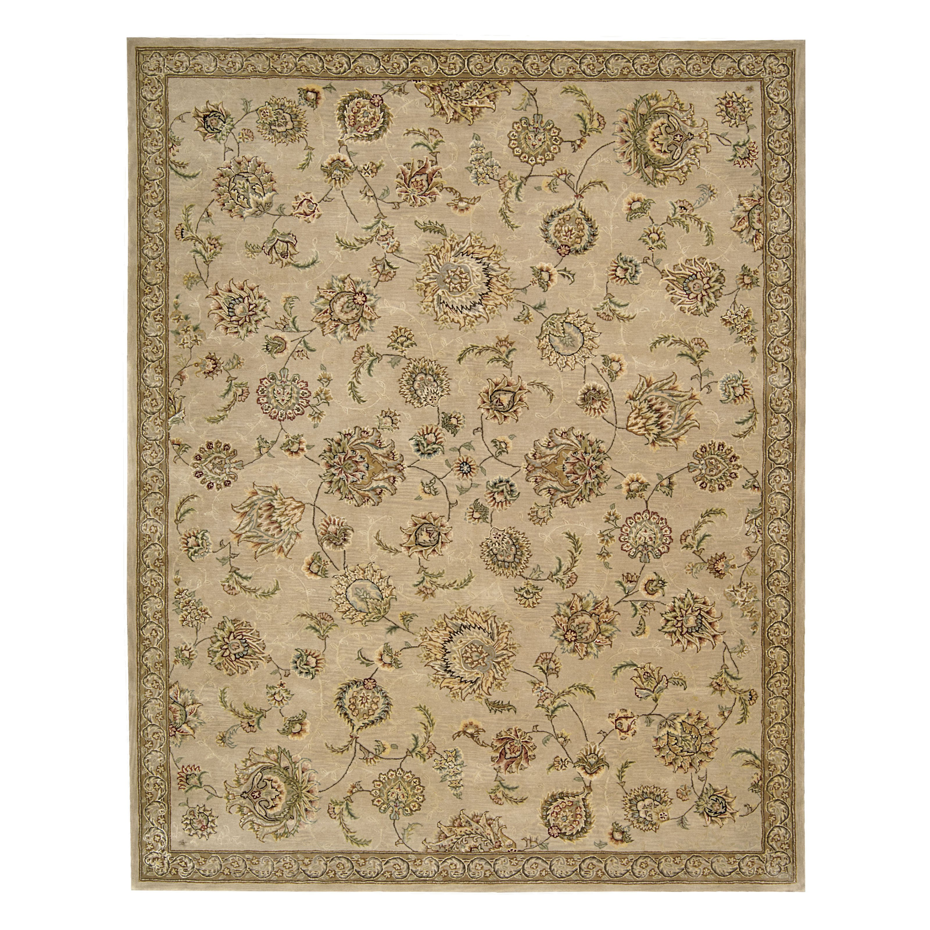 Nourison 2000 2360 Indoor Area Rug Beige 2.5L x 12W ft. by Overstock