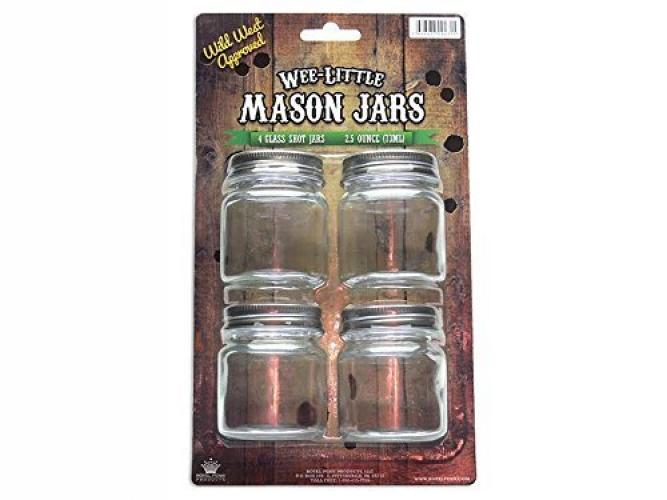 wee little mason jars with lids for food drinks and decoration clear