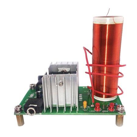Mini Tesla Coil Electronic Field Music DIY Project Kits Plasma Speaker Kit