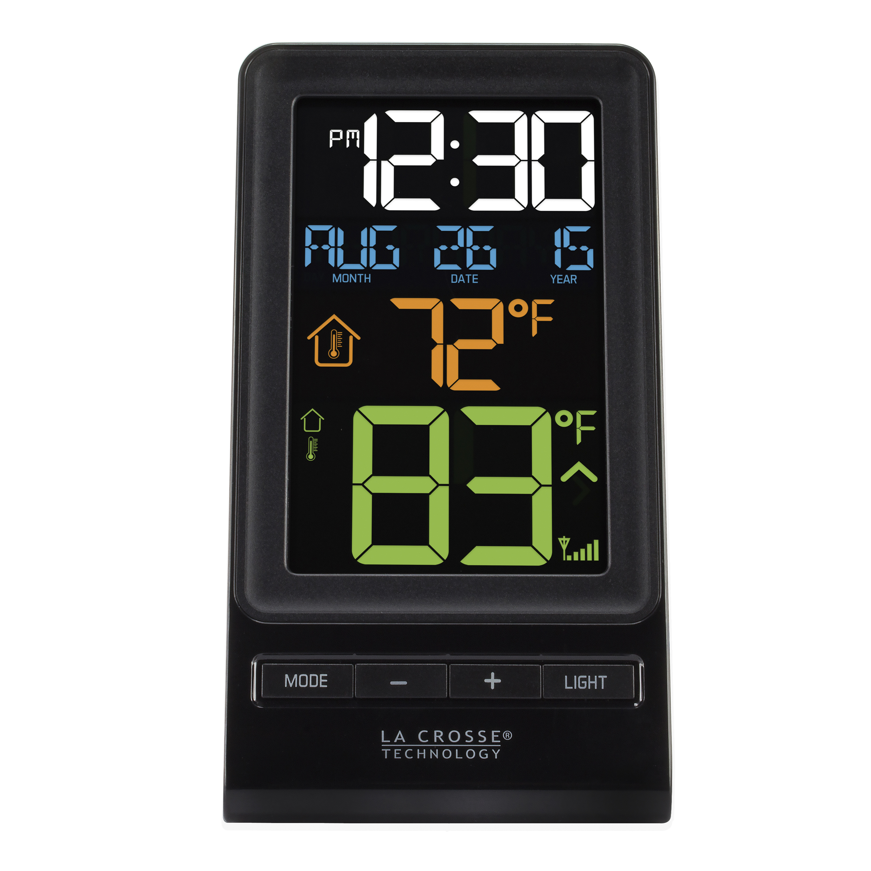 La Crosse Technology 308-1415 Digital Multi-color LCD Wireless Thermometer