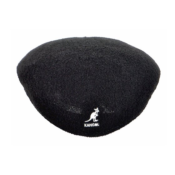 ef17a4c7315 KANGOL - Kangol Men s Bermuda 504 Black Flat Cap Hat - Walmart.com
