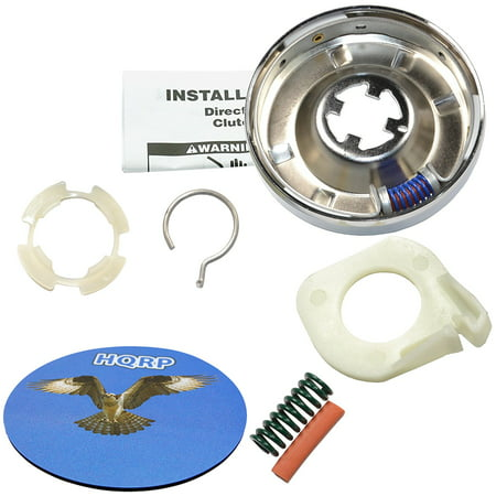 HQRP Washer Clutch Kit for Kenmore 11092093820 11092094100 11092094300 11092094500 11092094700 11092094800 11092180100 11092180110 11092180300 11092180310 11092180600 Washer + Coaster ()