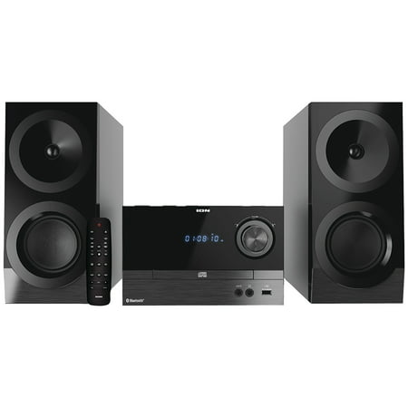 ION IAS01 Compact Bluetooth Shelf Hi-Fi FM Stereo System with CD Player](micro stereo systems ratings)