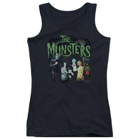 The Munsters 60's Monster Family Retro TV Series 50 Years Juniors Tank Top Shirt - 60's Attire For Women