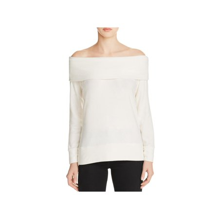 Cashmere Knit Shell (Cupcakes and Cashmere Womens Brooklyn Knit Pullover Sweater Ivory S )