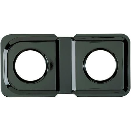 Range Kleen 1-Piece Drip Pan, Style K fits rectangle Burner Gas Ranges Amana/GE/Hotpoint/Kenmore/Magic Chef/Maytag, Black