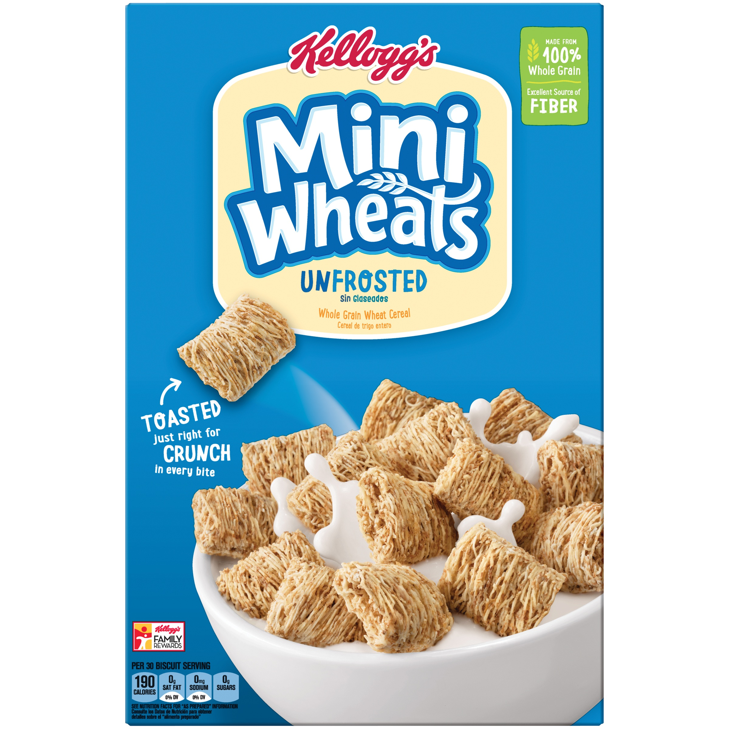 Kellogg's Mini Wheats Breakfast Cereal