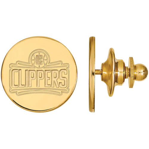 LogoArt NBA Los Angeles Clippers 14kt Gold-Plated Sterling Silver Lapel Pin