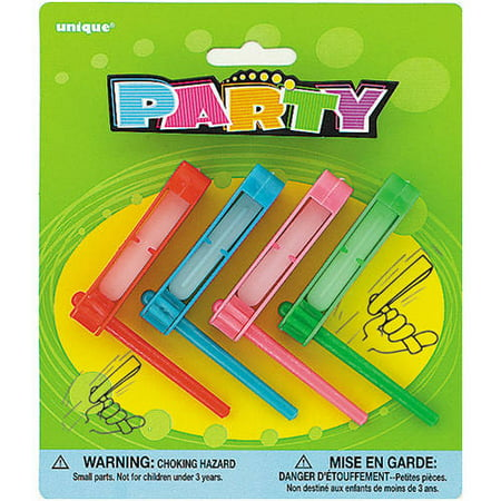 Spinning Noisemaker Party Favors, 4ct (Remote Noisemaker)