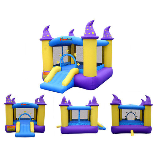 Bouncleand Bounce House - Wizard Magic Bouncer